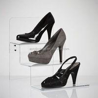 Factory direct wholesale acrylic shoe display case,acrylic shoe display stand
