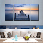 Modern Wall Art Decor Seascape Picture Digital Custom Canvas Giclee Prints Painting