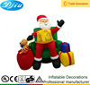 DJ-XT-112 christmas inflatable cartoon santa claus household items outdoor christmas decoration