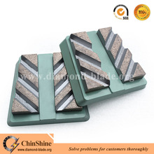 China metal bonded diamond frankfurt abrasive tools bricks for marble grinding