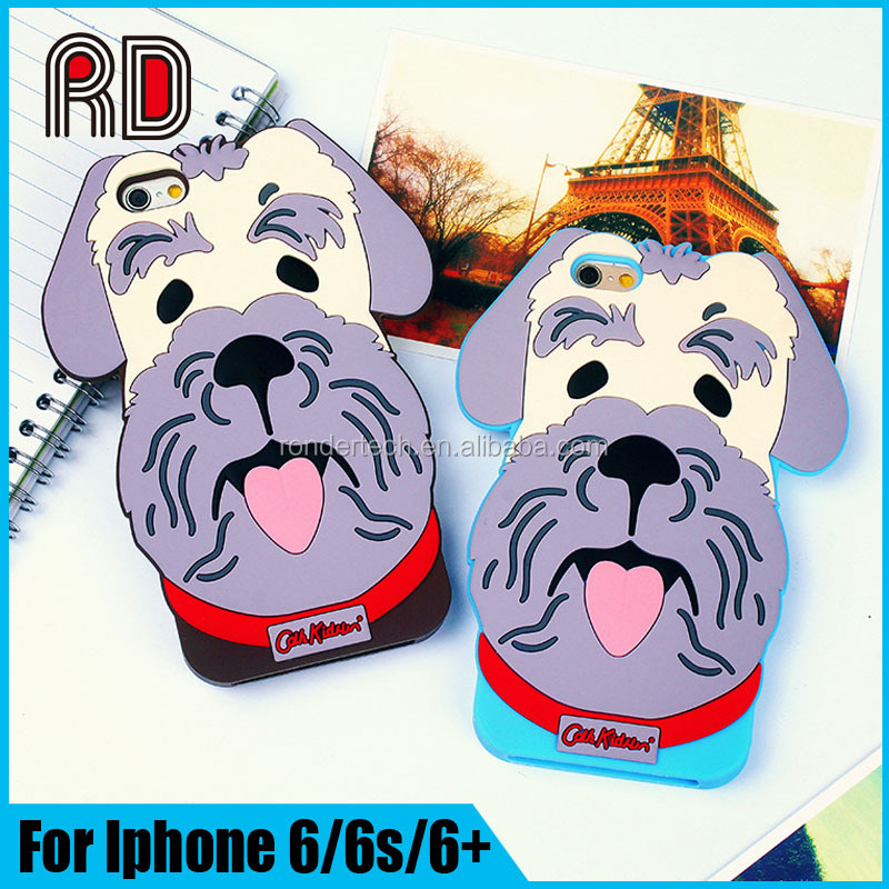 Billy Dog Silicon Mobile Phone Cover Case For Ipnone 6/6S/6 PLUS