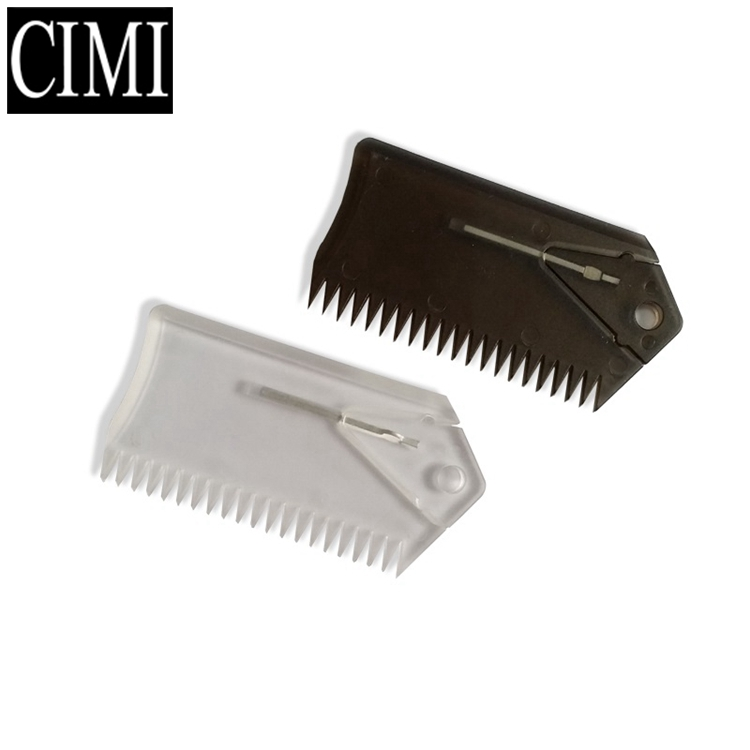 Hot selling good quality best design useful surfing wax comb A