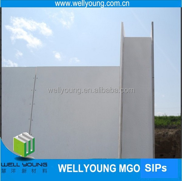 Cheap fireproof cement eps sandwich panel price