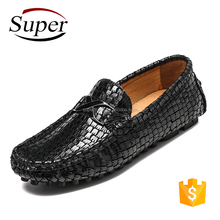 Manufacturer's Wholesale Comfort And Softness Cheap Genuine Leather Shoes Men