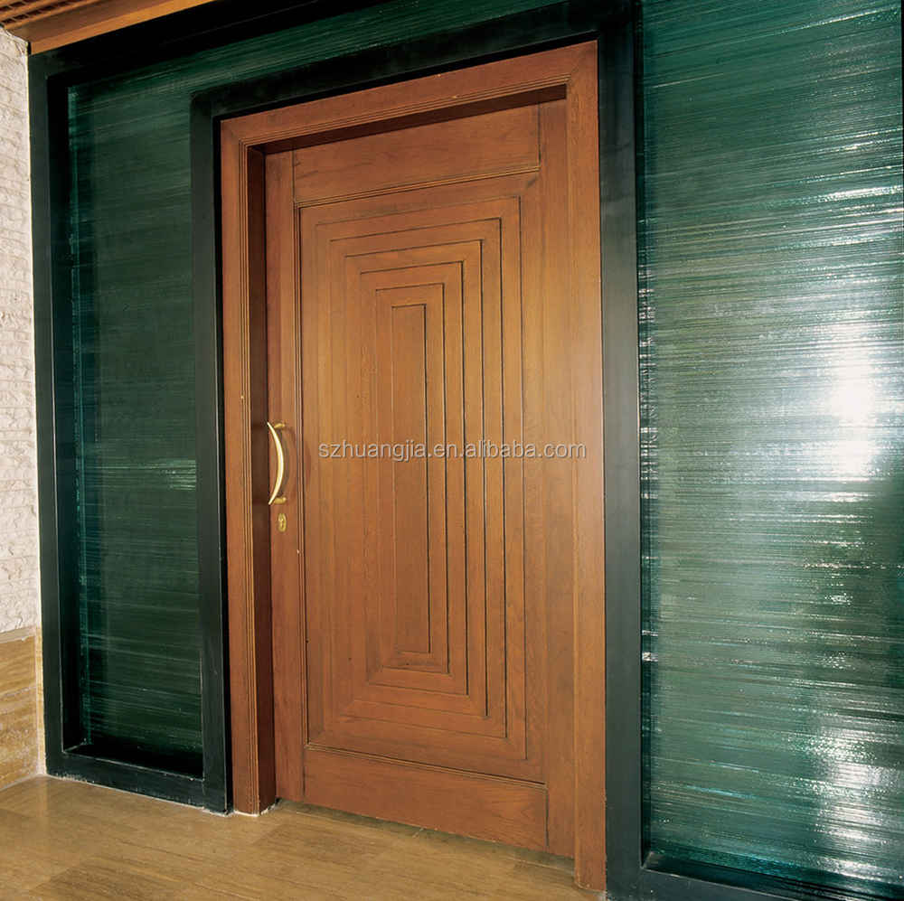 Simple Lowes Exterior Teak Wooden Single Main Doors Designs Buy Teak Wood Main Door Designs Wooden Single Main Door Design Lowes Exterior Wood Doors