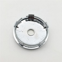 500 Emblem Car 60mm ABS Plate Aluminum Custom Hub Wheel Center Centre Cap Cover