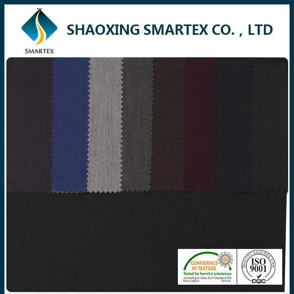 SM-95002-A ladies latest office uniform design polyester viscose elastane fabric