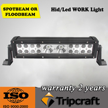 Wide operating voltage range 13 inch off road led light bar, high power 68w off road led light bar