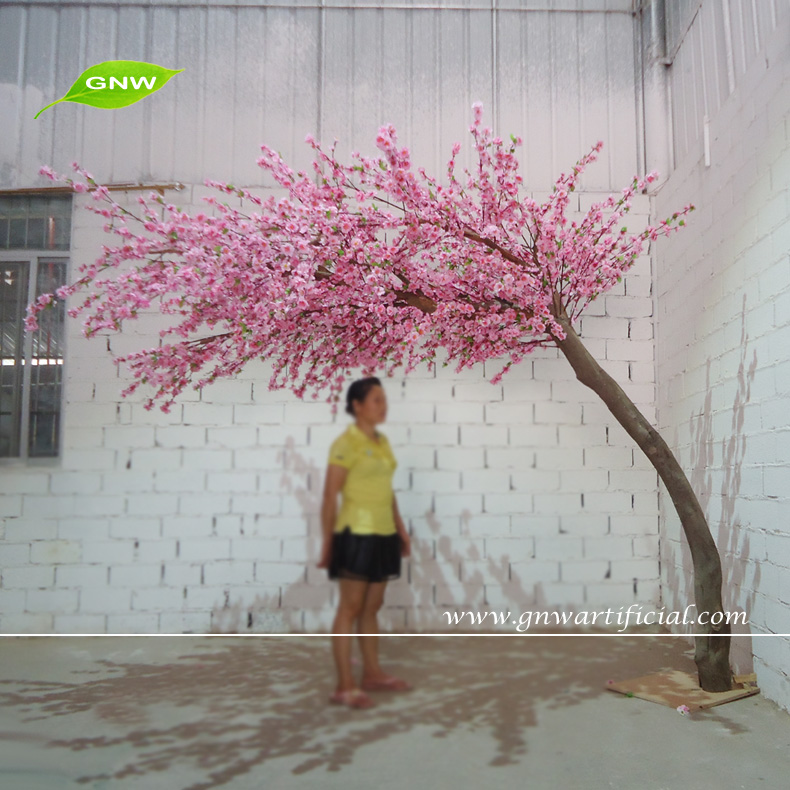 Gnw Bls1507019 Crooked Large Artificial Decorative Cherry Blossom