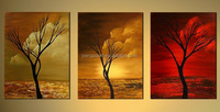 Modern Abstract oil Painting the Cloud Tree High quality Wall Decor Landscape oil Painting
