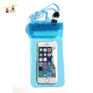 beach swimming sealed waterproof phone pouch case bag