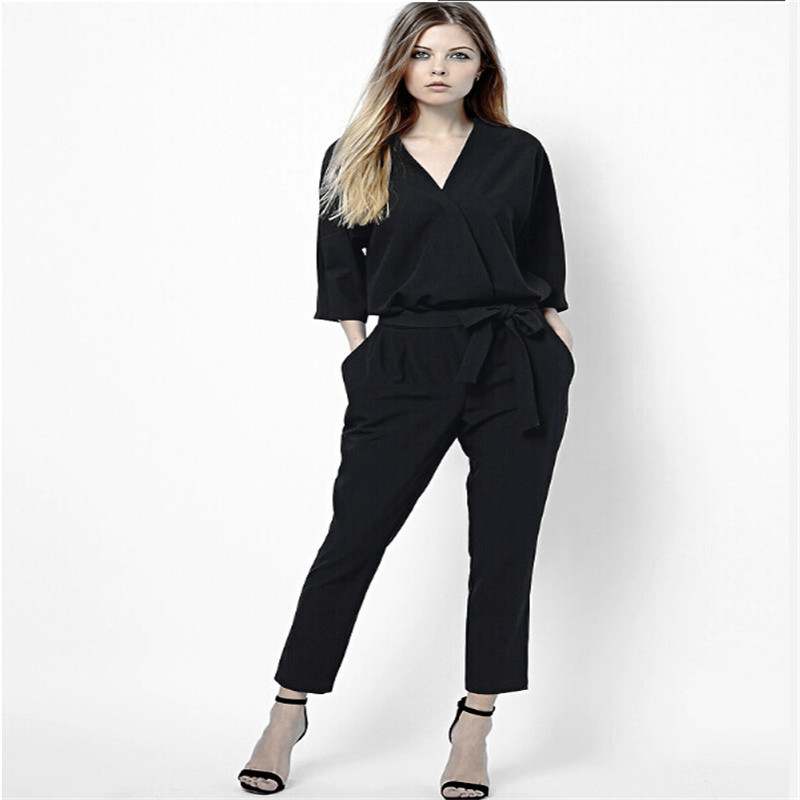 Buy Celebrity Style Women Clothing Long Pants Rompers Womens