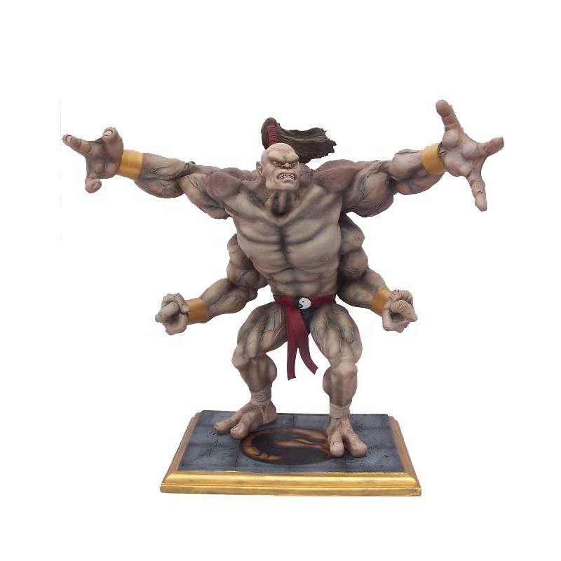 Customized Fighting Game Player Mortal Kombat Goro Statue - Buy Goro  Statue,Mortal Kombat Goro,Fighting Game Player Product on Alibaba com