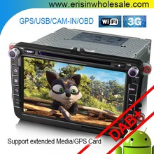 "Erisin ES6405V 8"" Android 6.0 Car Multimedia System with GPS DVR for Golf 5 Seat"