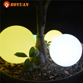 Color Changing Outdoor Hanging Ball Lights