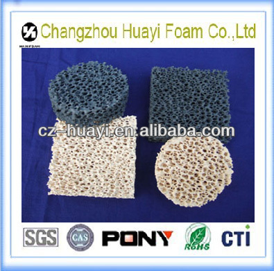 Alumina ceramic heater foam filter