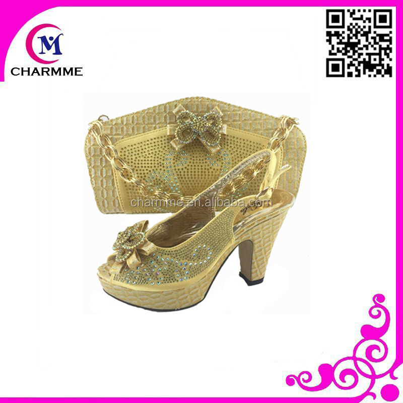 high matching with quality matching bag bags shoes and shoes 577 bag with matching CSB clutch shoes party for S4qUU