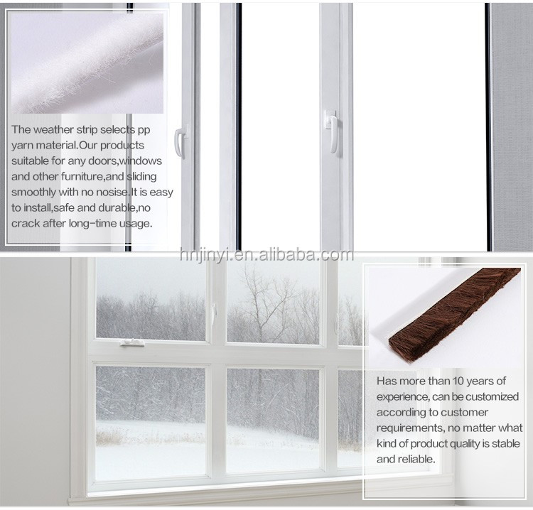 Felt Seal Strip Sliding Door Weather Stripping