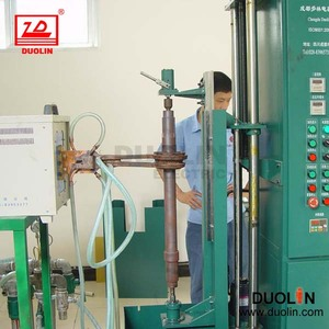 Bevel gear shaft induction hardening furnace
