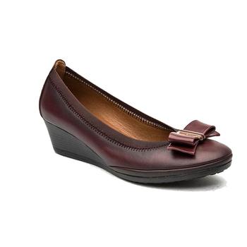 nouveau style moyen ge classique wedge chaussures femmes avec semelle intrieure amovible