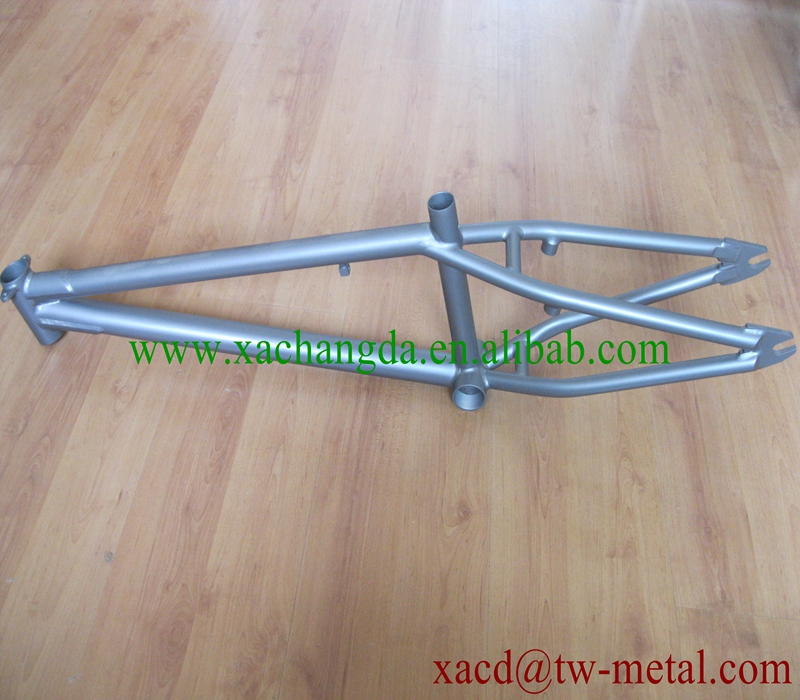 Oem Marco De La Bici Titanium Titanio Bicicleta Bmx Con Chorro De ...