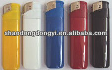 disposable or refillable electronic lighter with opaque tank