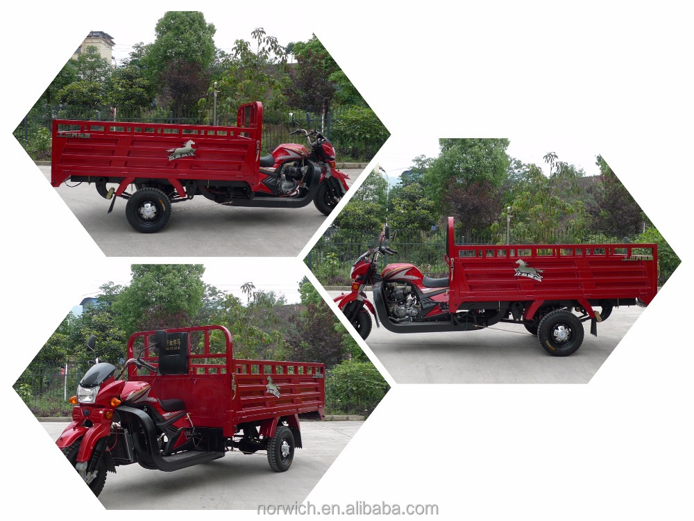 motorcycle truck 3-wheel front loading cargo tricycle