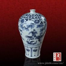 Bone china antique porcelain clay pottery ceramic vase made in Jingdezhen