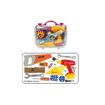 Kids Toy Workshop Kit Carry-on Suitcase Tool Toy