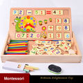HOT Wooden Montessori Toy Educational Baby Montessori Materials Math Education Toys For Children WD41 1