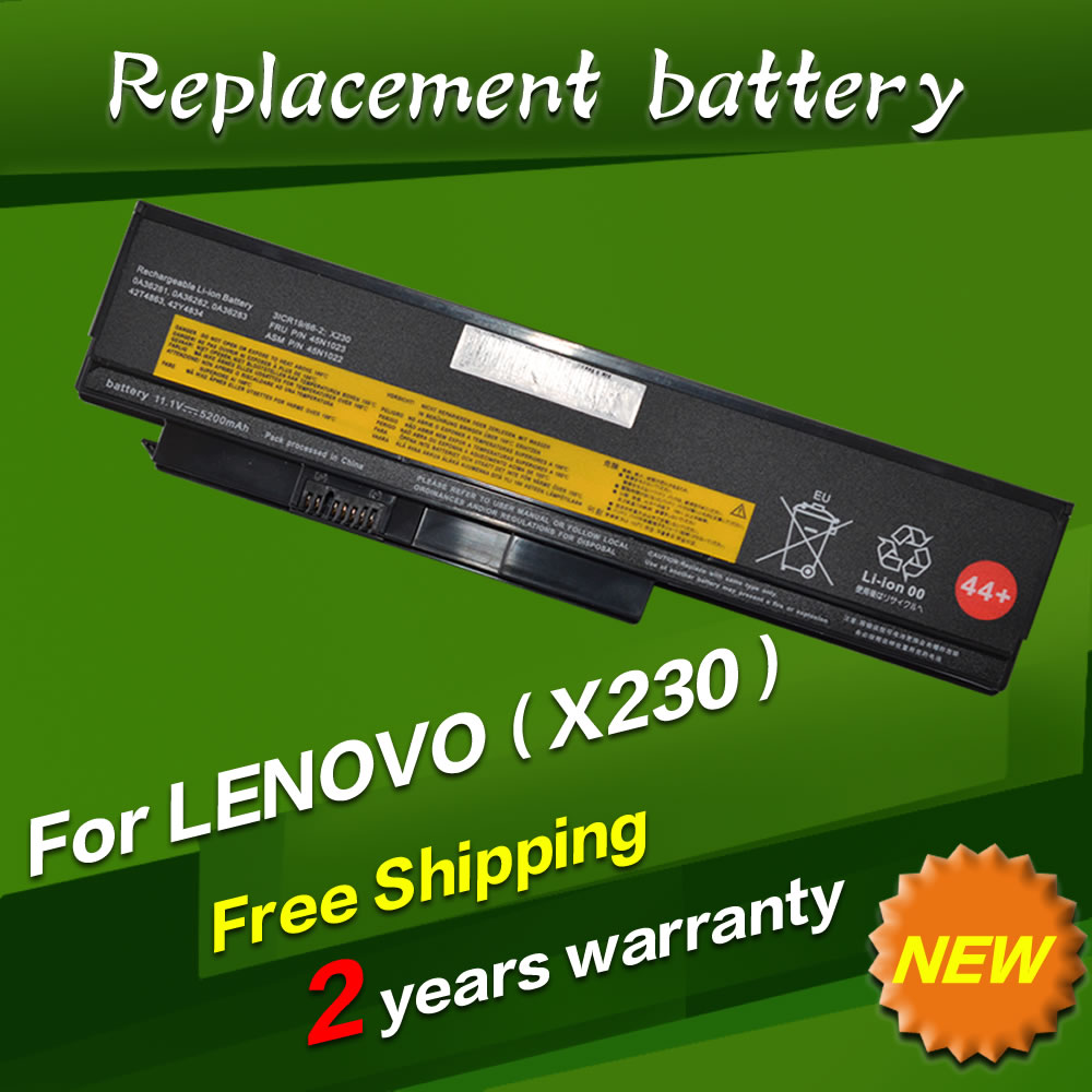 45N1022 45N1023 45N1026 45N1027 Laptop battery For Lenovo ThinkPad X230 X230I