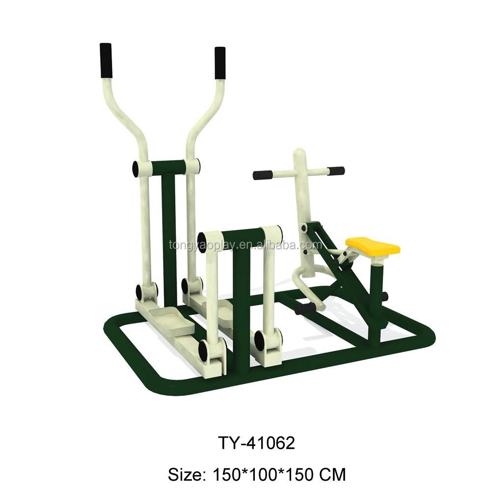 2017 de aço Galvanizado duplo air walker equipamentos de ginástica ao ar livre com certificado do CE