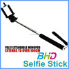 2016 promotional Extendable self selfie Monopod Cable Selfie Stick Camera Tripod Monopod for Smartphone Z07-5S