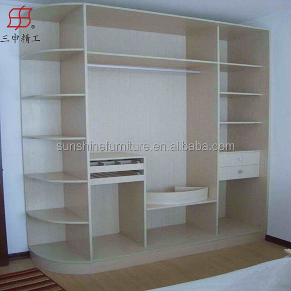 Cheap Modern Wooden Almirah Designs In Bedroom Wall Buy Wooden