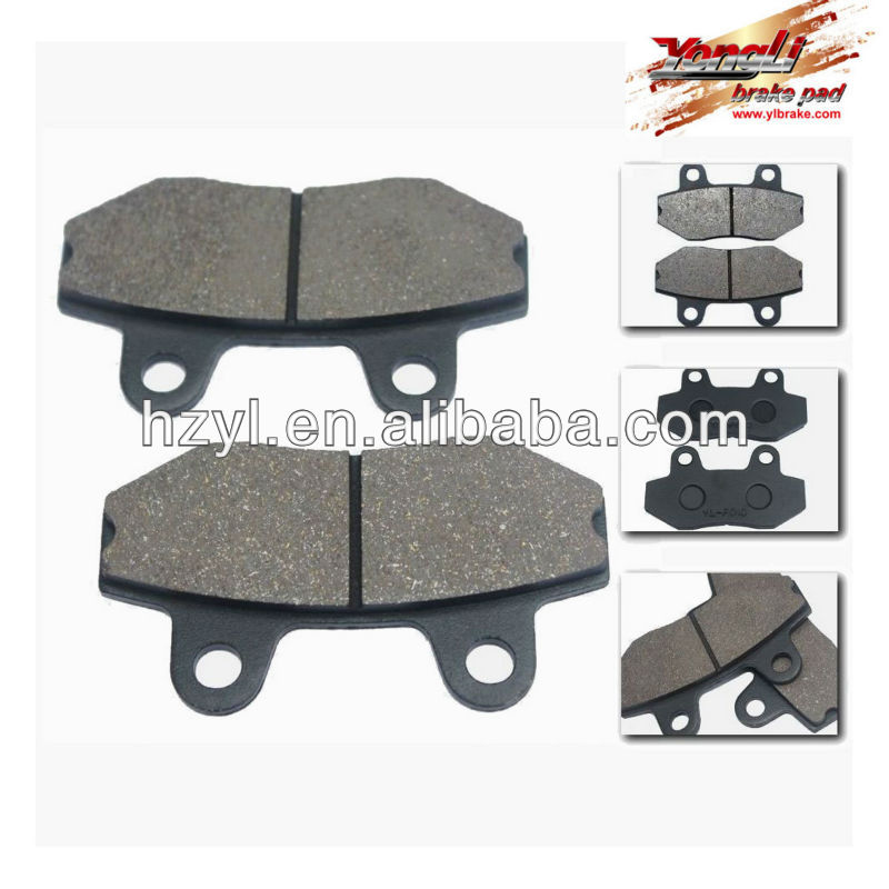China racing go kart tires/brake pad