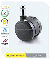 New office rubber chair caster/ furniture caster/ swivel caster DWG-F011