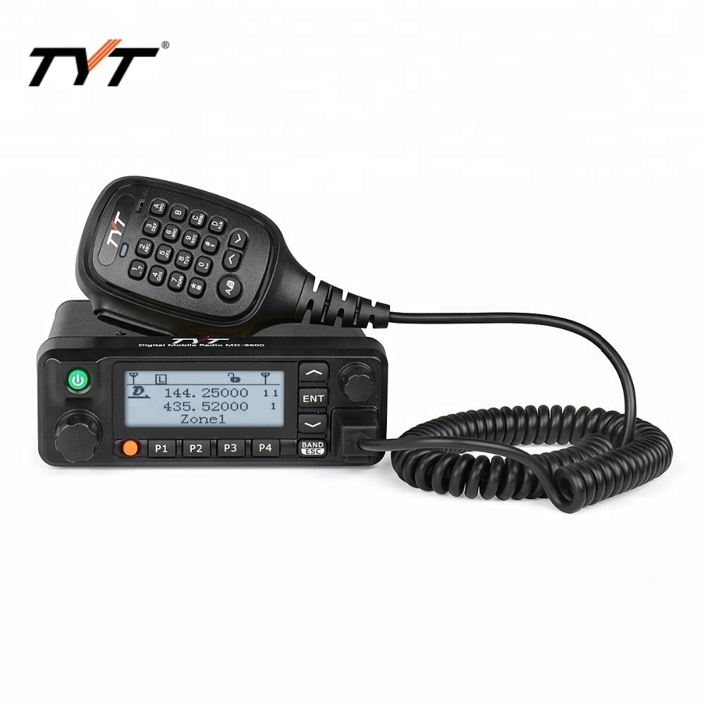 TYT 핫 세일 MD-9600 DMR transceiver dual band vhf uhf mobile radio 중국어 스 뿌듯
