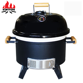 16 inch portable ceramic kamado charcoal BBQ grills for outdoor cooking