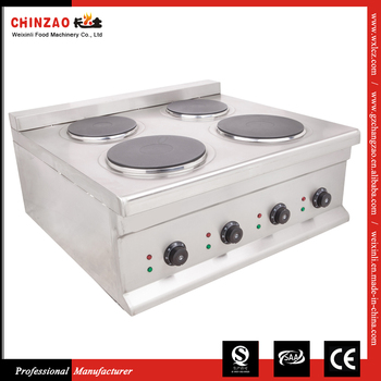 10kw Heavy Duty Stainless Steel Commercial Electric Stove