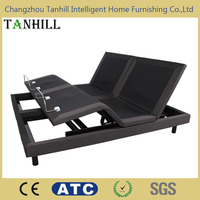 Top Quality split king adjustable bed with mattress OEM