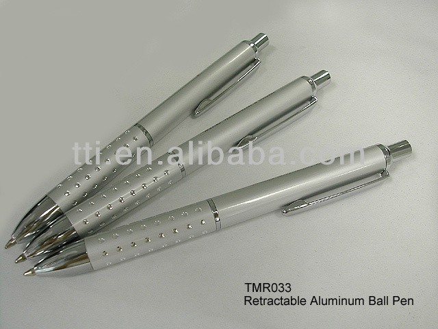 SA8000 SEDEX factory advertising logo promotional slogan metal ball point ballpoint pen