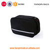 Black Lightweight Waterproof Toilet Bag Wash Bag Cosmetic Bag With Wall Hook And 4 Compartments