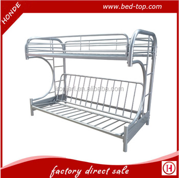 New style twin over full futon sofa metal bunk bed buy Whats bigger full or twin