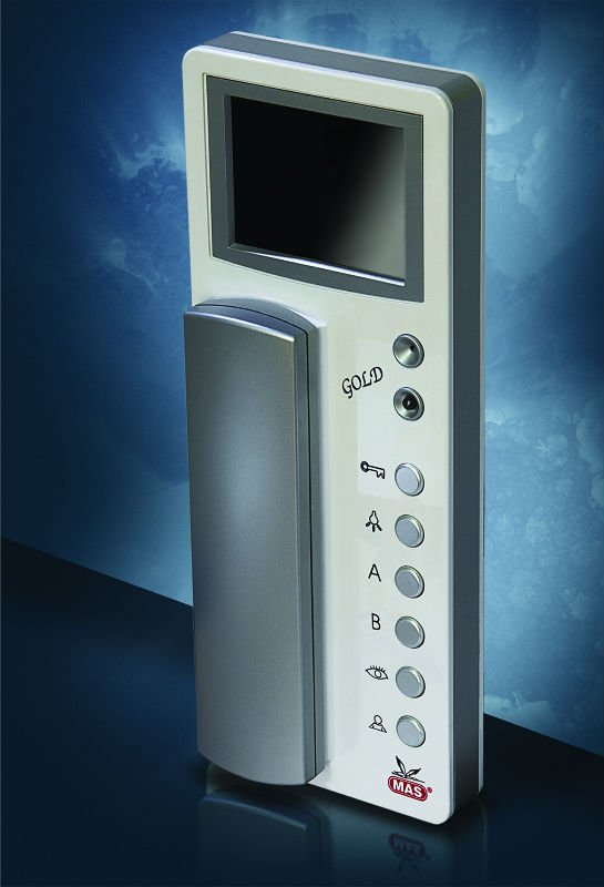 "3,5"" Color Video Door Phone With Intercom"