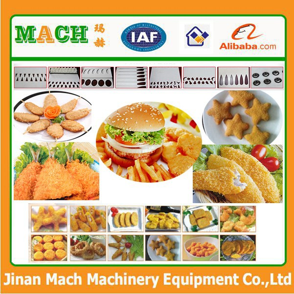 Breaded Mussel meat flouring machine
