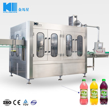 Full Automatic Plastic Bottle Orange Juice Filling Making Machine Manufacturer