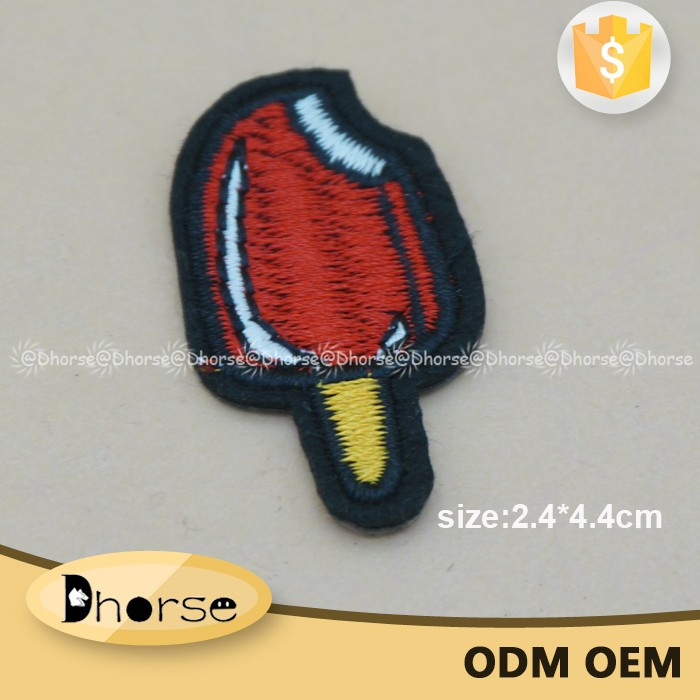 Wholesale china custom embroidery patches DHPT0838