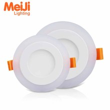 Super Brightness Ultra Thin Round led Flat Panel Ceiling Light Dimmer 6W 16w 24w 2x4 led panel light 2700k led Panel Lighting