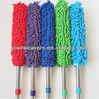 Stainless Extendable Magic Microfiber Chenille Cleaning Duster
