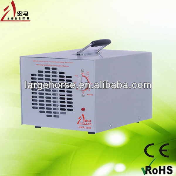 Small portable water ozone industrial air revitaliser